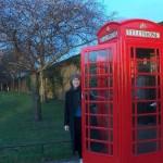 Helen in London (Actually just outside Hampton Court Palace, Richmond, U.K.)